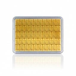 50 g Gold Tafelbarren...