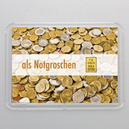 1 g Goldbarren Gold als...