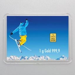 1 g Goldbarren Für alle...