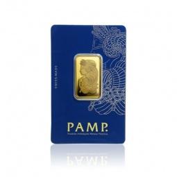 10 g Pamp Goldbarren