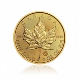 1 Unze Gold Maple Leaf...
