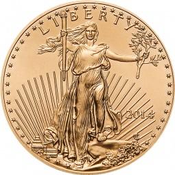 1 Unze Gold American Eagle...