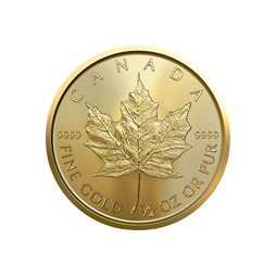 1/2 Unze Gold Maple Leaf 2020