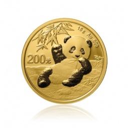 15g Gold China Panda