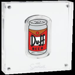 1oz Silber Duff Beer...