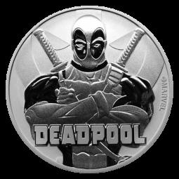 1oz Silber Deadpool