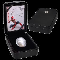 2oz Silber Spiderman (Gewölbt)