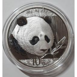 30g Silber China Panda 2018