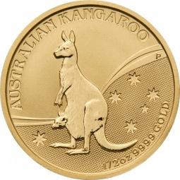 1/2 Unze Gold Känguru...
