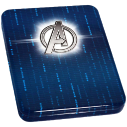 1oz Avengers Logo - im Etui