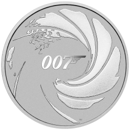 1oz Silber James Bond 007