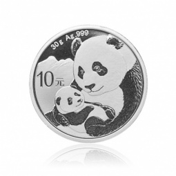 30g Silber China Panda 2019