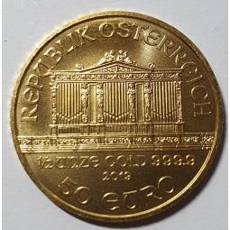 1/2 Unze Gold...