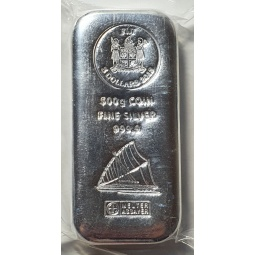 500g Silber Fiji Münzbarren...