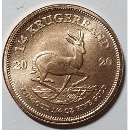 1/4 Unze Gold Krügerrand 2021