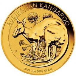 1 Unze Gold Känguru 2021