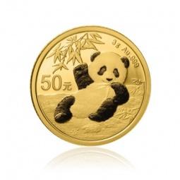3g Gold China Panda 2021