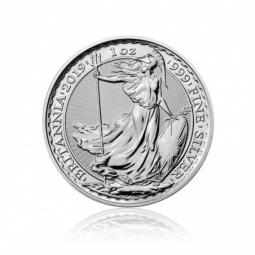 1 Unze Silber Britannia 2019