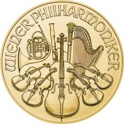 1/25 oz Philharmoniker 2021