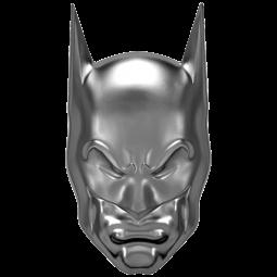 Batman Maske 2 oz Silber