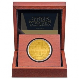 1 oz Gold Star Wars - Death...