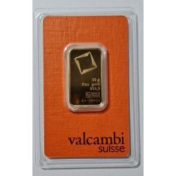 20 g Goldbarren VALCAMBI,...