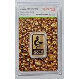 10 g Goldbarren...