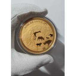 5 Unze Gold African Safari...